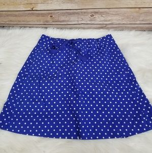 🎃 2/$18 or 3/$24 J Crew Polka Dot Pleated Skirt